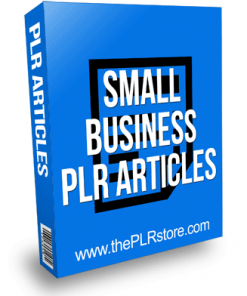 Small Business PLR Articles with Private Label Rights