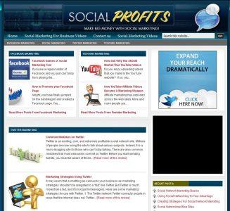 Social Marketing PLR Website social marketing plr website main 327x300