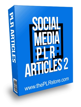 Social Media PLR Articles 2