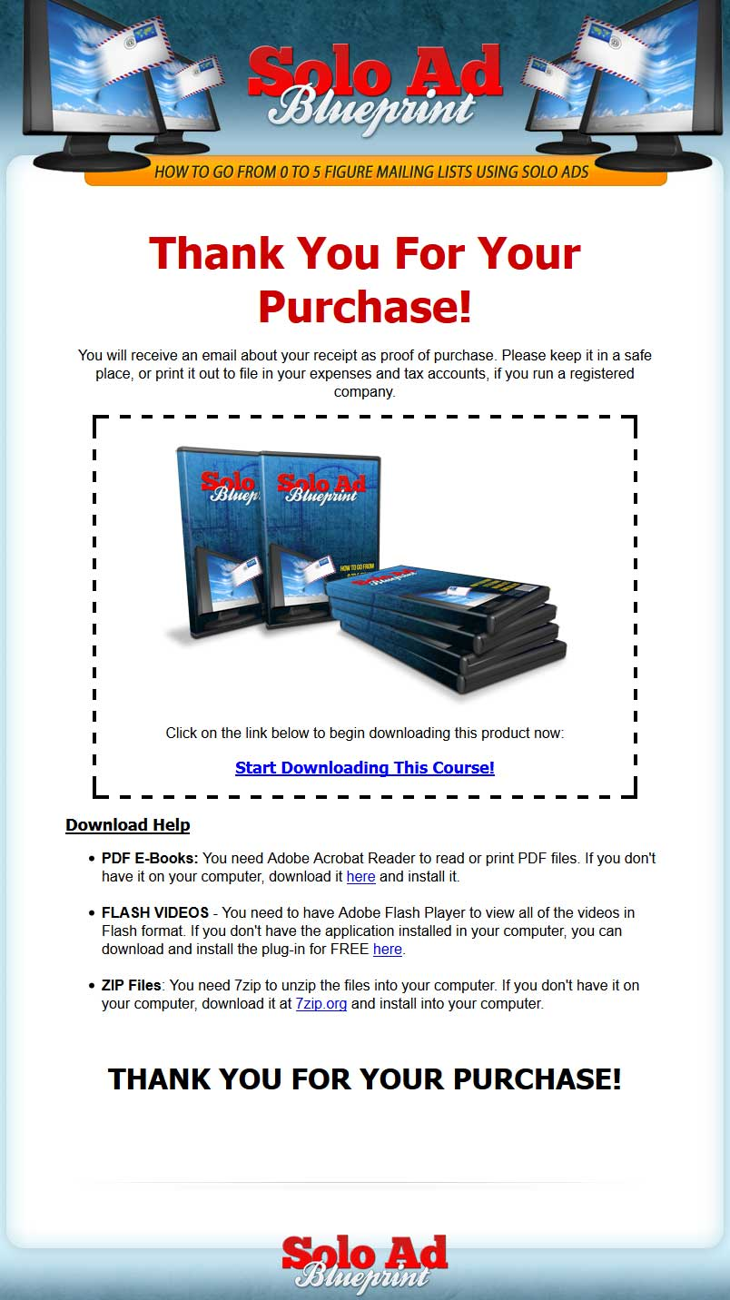 Solo ads blueprint videos with master resale rights 899 malvernweather Choice Image