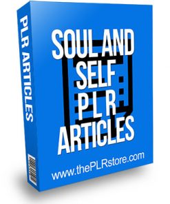 Soul and Self PLR Articles