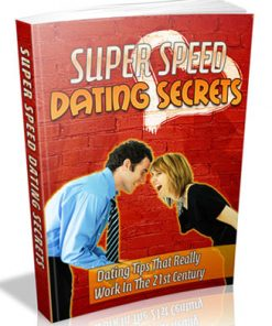 speed dating plr ebok