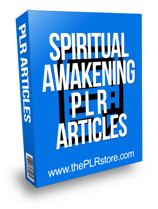 Spiritual Awakening PLR Articles