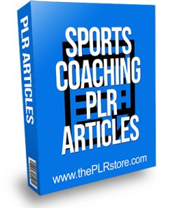 Sports Coaching PLR Articles