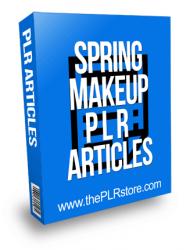 Spring Makeup PLR Articles