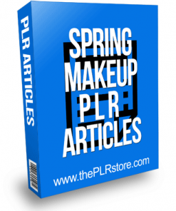 Spring Makeup PLR Articles