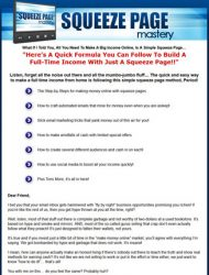 squeeze page mastery plr video squeeze page mastery plr video Squeeze Page Mastery PLR Ready To Sell Package squeeze page mastery plr video 190x250
