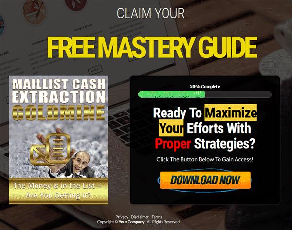 Mail List Cash Extraction Goldmine PLR Ebook