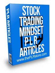 Stock Trading Mindset PLR Articles