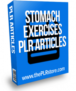 stomach exercises plr articles