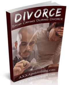 stop crying during divorce plr ebook
