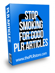 stop smoking for good plr articles stop smoking for good plr articles Stop Smoking for Good PLR Articles stop smoking for good plr articles 190x250