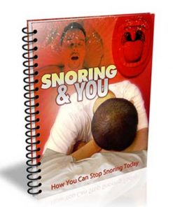 Stop Snoring PLR List Building Package