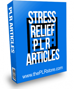 Stress Relief PLR Articles