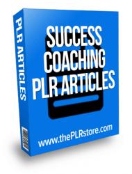 success coaching plr articles