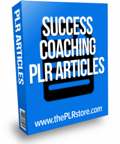 success coaching plr articles