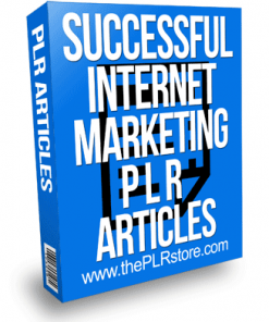 Successful Internet Marketing PLR Articles