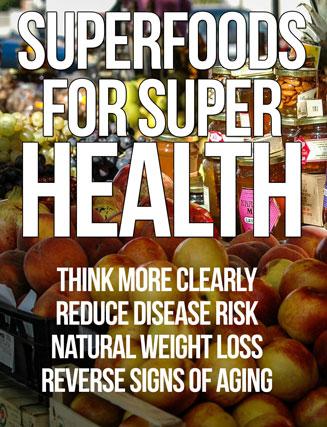 superfoods plr ebook