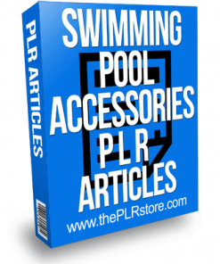Swimming Pool Accessories PLR Articles