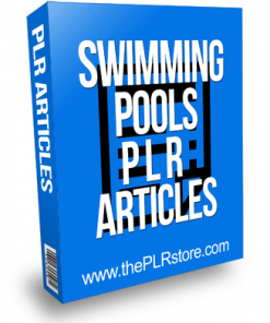 Swimming Pools PLR Articles