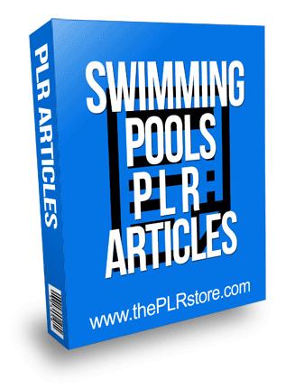 Swimming Pools PLR Articles