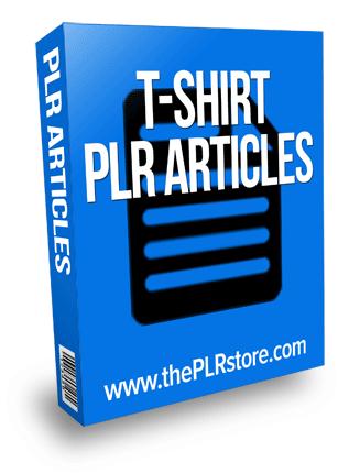 t-shirt plr articles