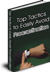 tacticstoavoidprocrastinationcovermrr  Tactics to Avoid Procrastination MRR eBook tacticstoavoidprocrastinationcovermrr 176x250