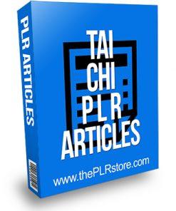 Tai Chi Articles PLR
