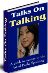 talkbook  Talks on Talking PLR eBook talkbook 166x250