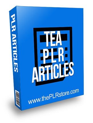 Tea PLR Articles