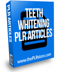 teeth whitening plr articles