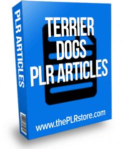 terrier dog plr articles