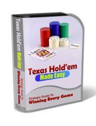 Texas Holdem PLR Template Landing Page