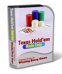 Texas Holdem PLR Template Landing Page