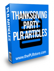 thanksgiving party plr articles thanksgiving party plr articles Thanksgiving Party PLR Articles thanksgiving party plr articles 190x250