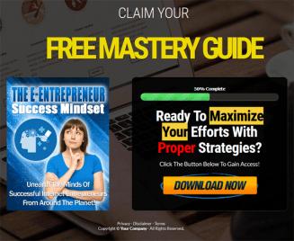 The E-Entrepreneur Success Mindset PLR Ebook