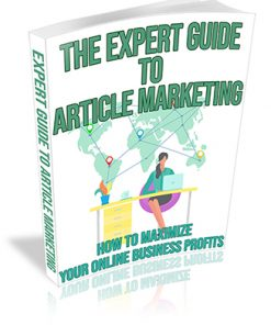 The Expert Guide to Article Marketing PLR Ebook
