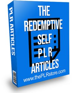 The Redemptive Self PLR Articles