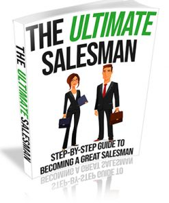 The Ultimate Salesman PLR Ebook