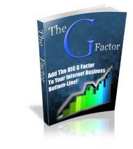 thegfactorlarge  The G Factor PLR eBook thegfactorlarge 190x213