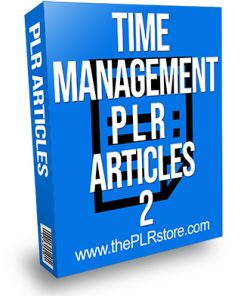 Time Management PLR Articles 2