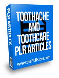 toothcare plr articles toothcare plr articles Toothache and Toothcare PLR Articles toothcare plr articles 190x250