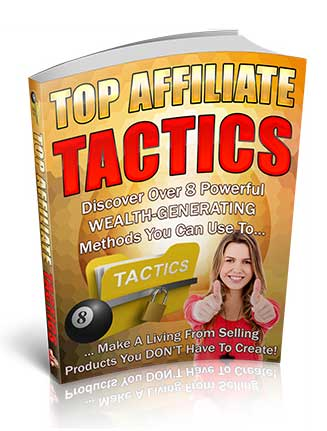 Top Affiliate Marketing Tactics PLR Ebook