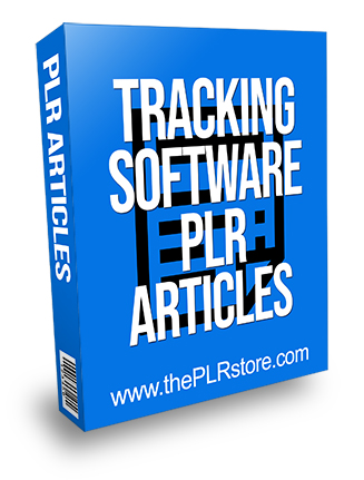 Tracking Software PLR Articles