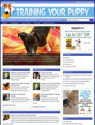 training your puppy plr website training your puppy plr website Training Your Puppy PLR Website with Private Label Rights training your puppy plr website