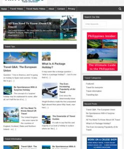 Travel PLR Website
