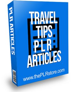 Travel Tips PLR Articles