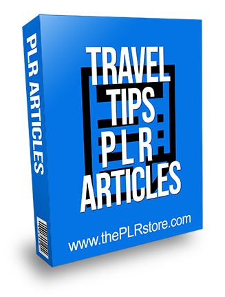 Travel Tips PLR Articles