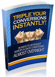 tripleyourconversionsbook1cover  Triple Your Conversions PLR eBook tripleyourconversionsbook1cover