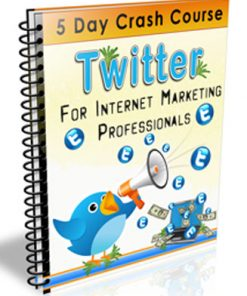 twitter crash course plr autoresponder messages